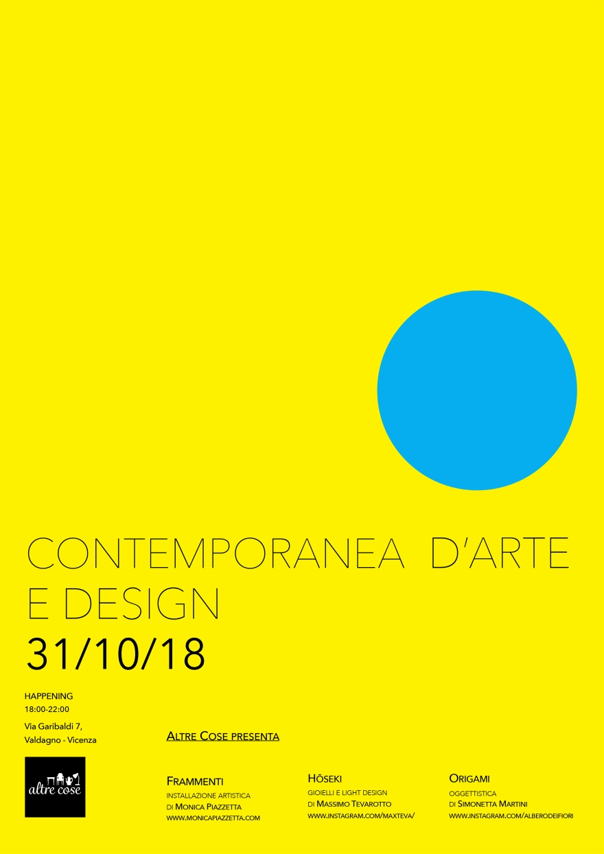 CONTEMPORANEA D'ARTE E DESIGN FINAL